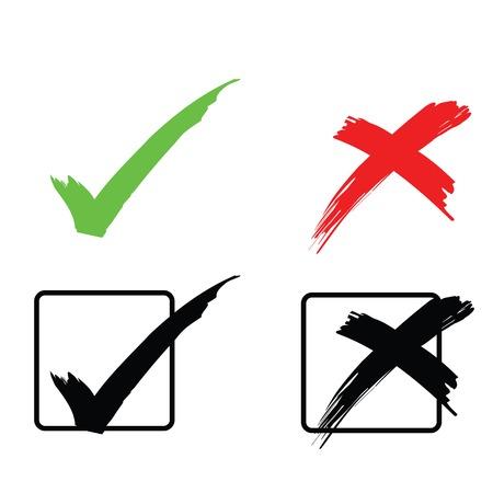 verkiezingen: Tick en kruis