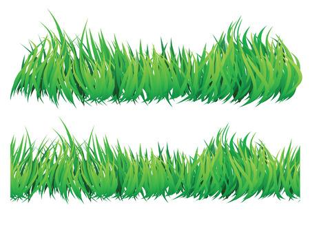 viento soplando: seamles natural buscando hierba que luce como el viento que sopla a trav�s de �l.  Vectores