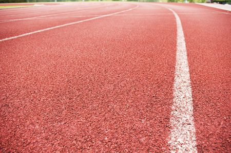 running track: running track for race, for concept or background.