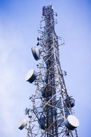 telecommunication tower Stock Photo - 9531365