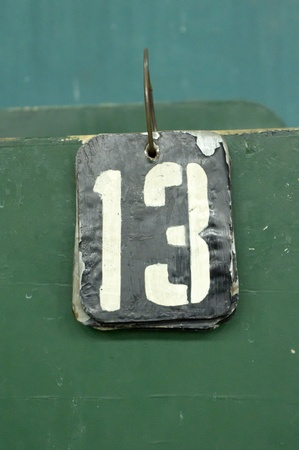 number tags plate for badminton games scores Stock Photo - 10326910