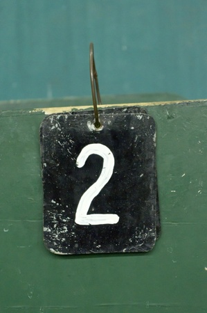 scores: number tags plate for badminton games scores