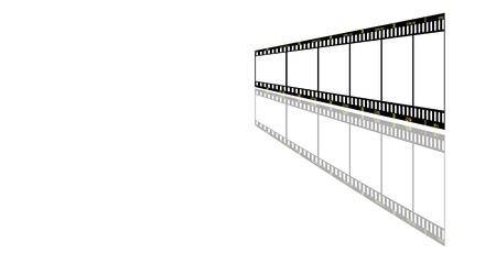 slides: filmstrip background, with copy space for design.
