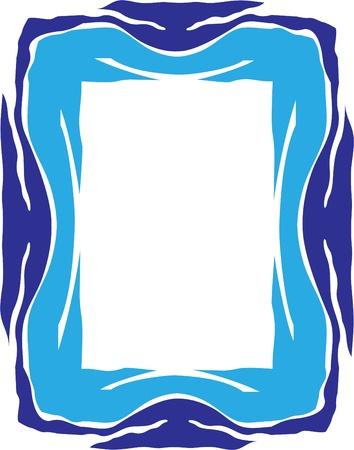 grafisch frame voor design elementen Vector Illustratie