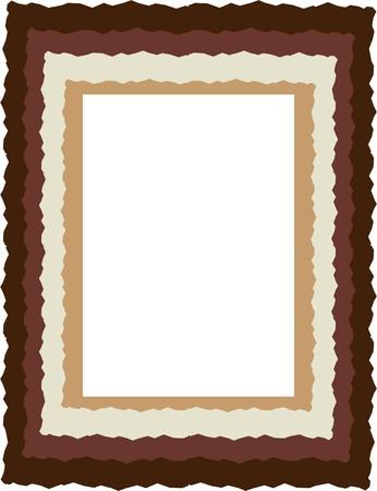 grafisch frame voor design elementen