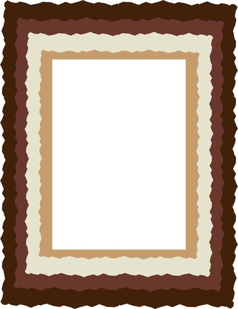 graphic frame for design elements Stock Vector - 10599098