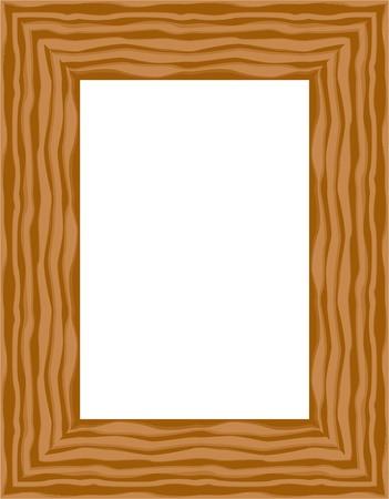 picture frames: graphic frame for design elements Illustration