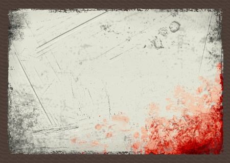 grunge background with stains, empty space for text. background template for webpage, design. Stock Photo - 10599163