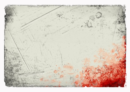 grunge background with stains, empty space for text. background template for webpage, design. Stock Photo - 10599158