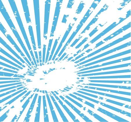 grunge background with sunburst pattern Vector