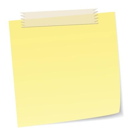 notas de mensaje con cinta adhesiva, cinta adhesiva es con la transparencia que puede moverse libremente, con efectos de superposición.