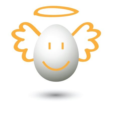 angel cartoon, for conceptual symbol. Stock Vector - 11210169