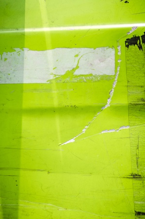 green grunge metal background with scratches. Stock Photo - 11753216