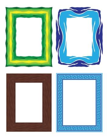 photo frames Stock Vector - 11821186