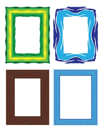 cartoon frame: photo frames Illustration