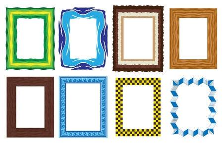picture frames Stock Vector - 11821370