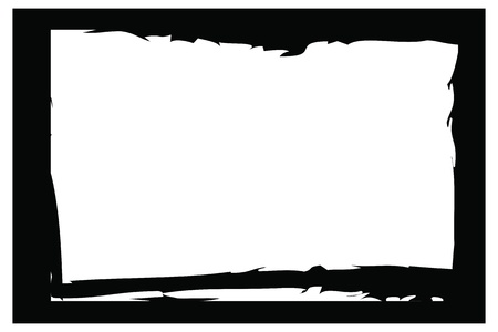 grunge borders, frames, for image or photo. vector format. Stock Vector - 11821044