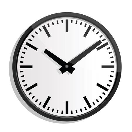 punctual: ilustraciones de reloj de pared.