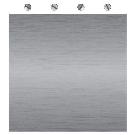 metal surface texture, for background or message display Vector