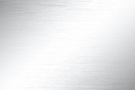 metalic: Vektor Illustrationen von realistischen metallischen Oberfl�che mit poliertem Finish