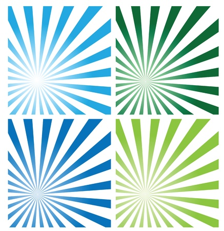 sunburst background, vector format. Easy to edit with different sizes. Stock Vector - 11822926