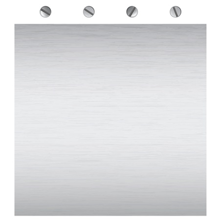 metal sheet: metal surface texture, for background or message display