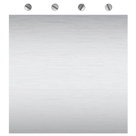 metalen oppervlak textuur, voor achtergrond of boodschap scherm Stock Illustratie
