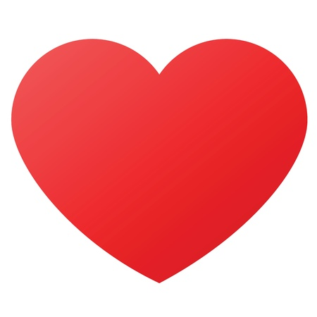 heart shape design for love symbols. Vector