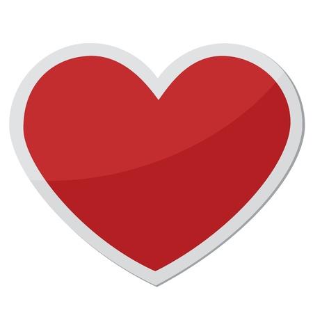 heart shape design for love symbols. Stock Vector - 11823442