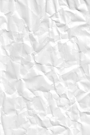 scrunch: crumpled paper background, texture for design usage.