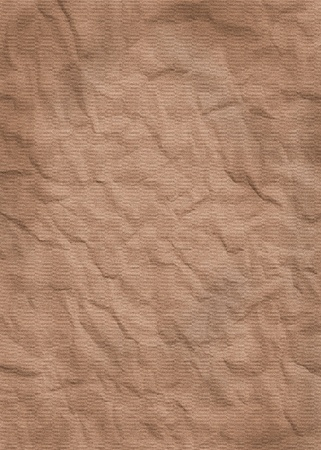 scanned: brown crumpled background, for grunge style texture usage. carefully scanned.