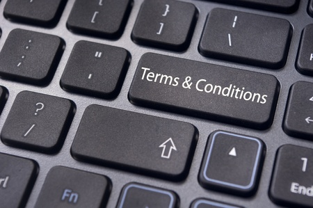 violated: message on keyboard enter key, for terms and conditions concepts.