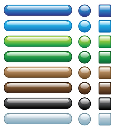 web buttons: web buttons, with embed looking, another set with different colour is in my profile.