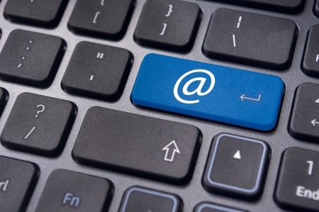 email contact: at sign or ampersat on keyboard enter key, for email concepts