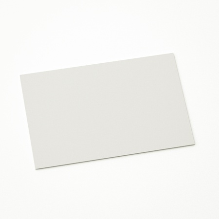 isolated blank business card, to replace with own image.