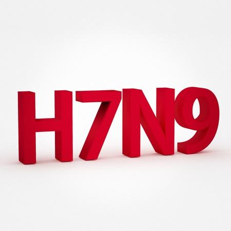 flu virus: H7N9 flu virus concepts, new flu virus outbreak in china
