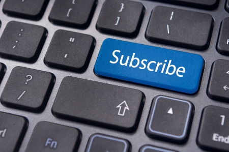 subscribe: a subscribe message on keyboard enter key, for conceptual usage.