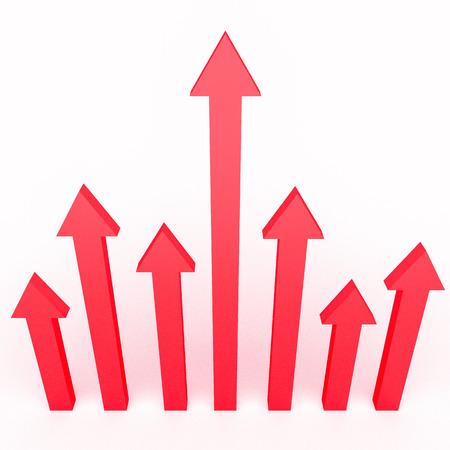 3d pijlen infographics ontwerp voor zakelijke groei concepten. Stockfoto - 36008910