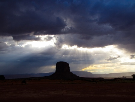 Monument valley weather
