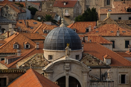 sv vlaho church dome dubrovnik Фото со стока