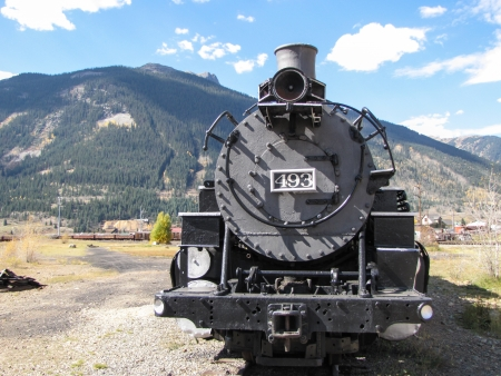durango silvertain steam train
