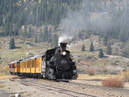 silverton steam train