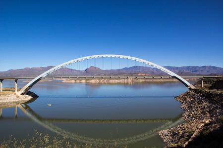 roosevelt: Lake Roosevelt bridge