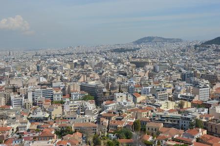 acropolis: Athens view from Acropolis