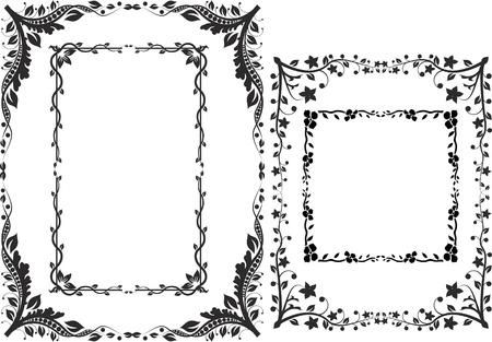 confini ed elementi di design cornici