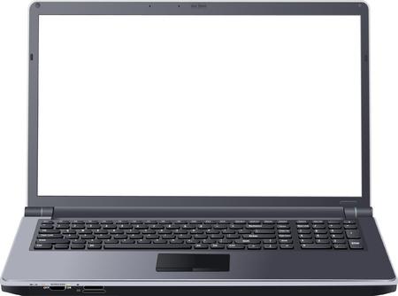 laptop screen: port�til marco vac�o