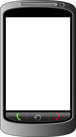 mobile phone without display Stock Vector - 11671637
