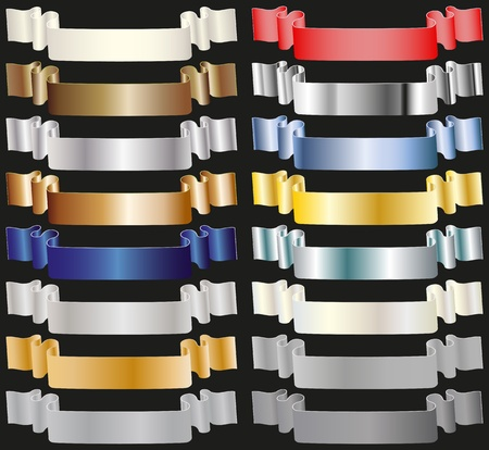 metallic tape: colored tapes