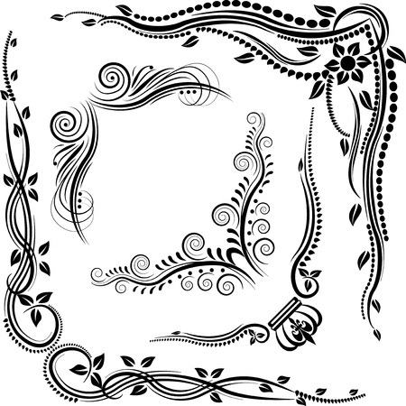 decorative corners Stock Vector - 12488683