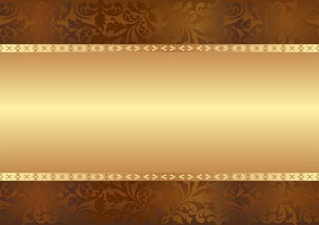 goudbruin achtergrond met kopie ruimte